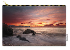 Celtic Sunset Carry-all Pouch by Beverly Cash