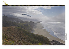 Carry-all Pouch featuring the photograph Central Oregon Coast Vista by Mick Anderson