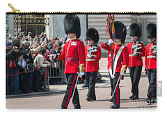 Changing Of The Guard At Buckingham Palace Carry-all Pouch