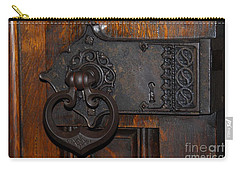 Carry-all Pouch featuring the photograph Chapel Door by Cindy Manero