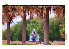 Charleston Pineapple Fountain Carry-all Pouch