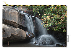 Carry-all Pouch featuring the photograph Chau-ram Falls by Lynne Jenkins