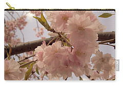 Carry-all Pouch featuring the photograph Cherry Blossom 2 by Andrea Anderegg