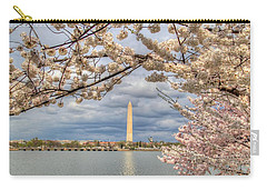 Cherry Blossoms Washington Dc 4 Carry-all Pouch