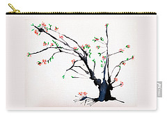 Cherry Tree By Straw Carry-all Pouch