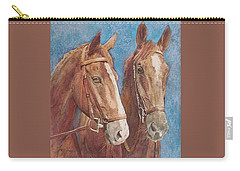 Chestnut Pals Carry-all Pouch