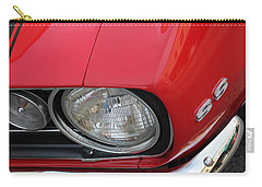 Carry-all Pouch featuring the photograph Chevy S S Emblem by Bill Owen