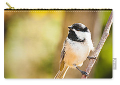 Chickadee Carry-all Pouch by Cheryl Baxter