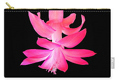 Christmas Cactus Carry-all Pouch by Steven Clipperton