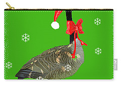 Christmas Goose Carry-all Pouch