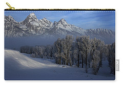 Christmas Morning Grand Teton National Park Carry-all Pouch