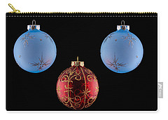 Christmas Ornaments Carry-all Pouch by Doug Long