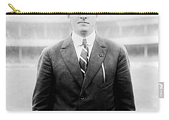 Carry-all Pouch featuring the photograph Christy Mathewson - Major League Baseball Player by International  Images