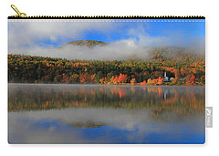 Church Across The Lake-panoramic Carry-all Pouch