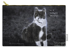 Carry-all Pouch featuring the photograph Cinderella Fella by Vicki Ferrari