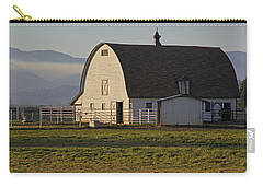 Carry-all Pouch featuring the photograph Classic Barn Near Grants Pass by Mick Anderson