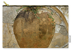 Carry-all Pouch featuring the photograph Clay Pot by Lainie Wrightson