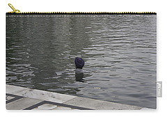 Carry-all Pouch featuring the photograph Cleaning The Sarovar In The Golden Temple by Ashish Agarwal