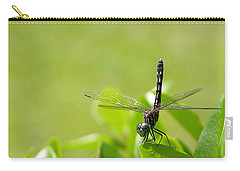Carry-all Pouch featuring the photograph Cleared For Take-off by Dan Wells