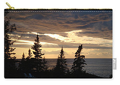 Carry-all Pouch featuring the photograph Clearing Sky by Bonfire Photography