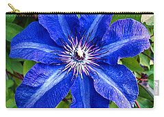 Carry-all Pouch featuring the photograph Clematis by Nick Kloepping