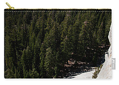 Climber In Yosemite Carry-all Pouch