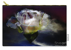 Cloud Rose Painterly Carry-all Pouch by Clayton Bruster