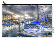 Clouds Over Marina Carry-all Pouch