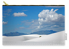 Clouds Over The White Sands Carry-all Pouch