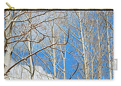 Cloudy Aspen Sky Carry-all Pouch