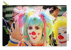 Carry-all Pouch featuring the photograph Cloverleaf Clown by Alice Gipson