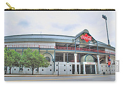 Carry-all Pouch featuring the photograph Coca Cola Field  by Michael Frank Jr