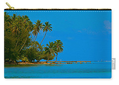 Carry-all Pouch featuring the photograph Coconuts Anyone by Eric Tressler