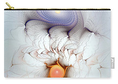 Carry-all Pouch featuring the digital art Coexistence by Casey Kotas