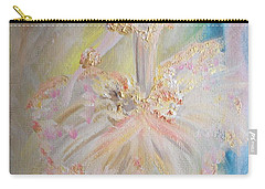Coffee Fairy Carry-all Pouch by Judith Desrosiers