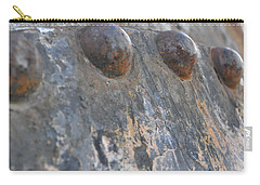 Carry-all Pouch featuring the photograph Color Of Steel 7 by Fran Riley