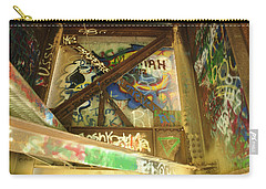Carry-all Pouch featuring the photograph Color Of Steel 8 by Fran Riley