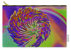 Carry-all Pouch featuring the photograph Color Splash by Cindy Manero