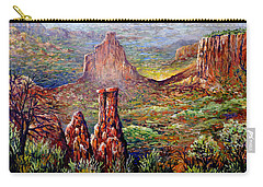 Colorado National Monument Carry-all Pouch by Lou Ann Bagnall