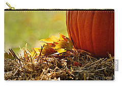 Carry-all Pouch featuring the photograph Colorful Autumn by Nava Thompson