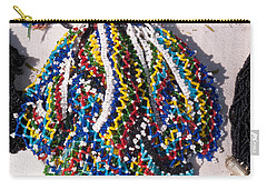 Colorful Beads Jewelery Carry-all Pouch by Ashish Agarwal