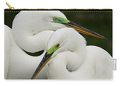 Colorful Couple Carry-all Pouch by Myrna Bradshaw
