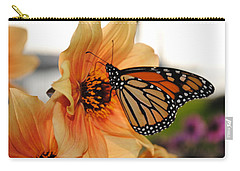 Carry-all Pouch featuring the photograph Colors In Sync by Michael Frank Jr