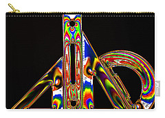 Carry-all Pouch featuring the photograph Colourful Geometry by Steve Purnell