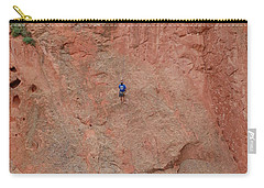 Coming Down The Mountain Carry-all Pouch by Randy J Heath