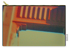 Carry-all Pouch featuring the digital art Coming In by Richard Laeton