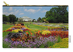 Carry-all Pouch featuring the photograph Conservatory Gardens by Lynn Bauer