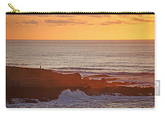 Carry-all Pouch featuring the photograph Contemplation by Susan Rovira