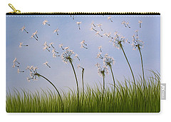 Contemporary Landscape Art Make A Wish By Amy Giacomelli Carry-all Pouch