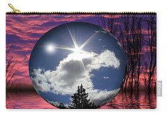 Contrasting Skies Carry-all Pouch